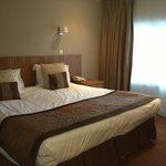bedroom ok but a bit holiday inn
