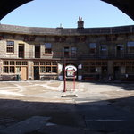 Landguard Fort,Courtyard.