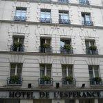 Hotel de l'Esperance - Facciata