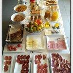El desayuno ¡genial!
