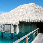 Our massive Premium Overwater Bungalow!