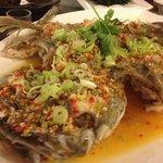 steam fish with chili