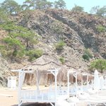 Secret garden is a pleasant part of the beach for those who want to spend extr
