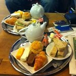 Typical Afternoon Tea at D'accord!