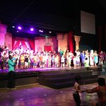 Theater with kids onstage