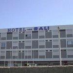 Fachada do Hotel Rali