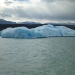 Floating Iceberg in Lago Argentino - Calafate