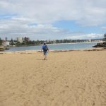 Pic of Shelly Beach looking toward Manly