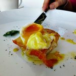Perfect poached eggs!