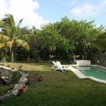 Cenote und Pool