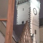 Tower in Tabor... wiev from room 205