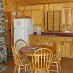 Kitchen, cabin #10