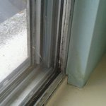 Mold / Grime window frame