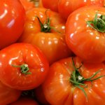 Pretty as picture tomatoes at Draper Mercantile