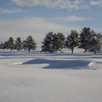 Winter View of the Golf Course