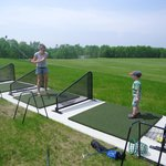Full Size driving range with lessons and clinics