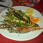 Mixed grilled seafood - EXCELLENT