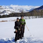back-country skiing in Routt Nat'l Forest