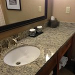 Beautiful sink area with lots of counter space