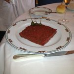 Steak tartare, very nice
