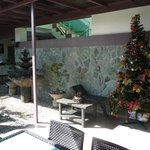 the little garden and the front desk area-3