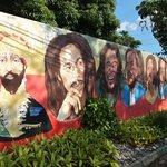 At the Bob Marley Museum in Kingston, Jamaica.