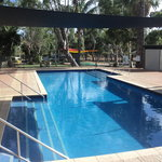 18 mtr Swimming Pool with shade