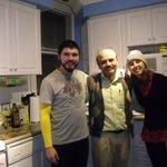 Rafa, Tahir e eu.