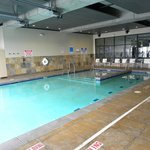 Heated indoor/outdoor pool