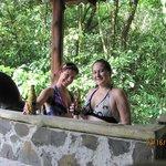 Our privae hot tub
