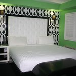 Cool cabana room