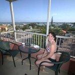 Nice balcony, perfect for breakfast!