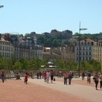 View from the Bellecour square