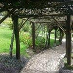 caminito y jardines
