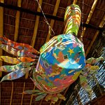 These huge hanging turtle decorations are just spectacular