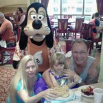 Breakfest with Goofy