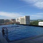 swimming pool at level 6