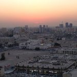 Souq-Waqif at sunset from the rooftop