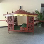 A palanquin as used by brides back in the day.
