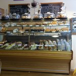 The selection of cakes