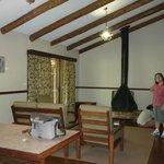 Cabin lounge area