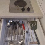 Hob and utensil collection