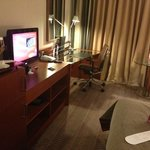 Nice big club room which is well equipped..