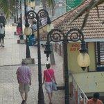 walking area of light house beach