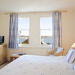 Porthilly View - sumptuous super king-size double bed