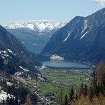 Lago di Poschiavo from Bernina Express