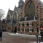 Oude Kerk a due passi dall'hotel