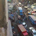 View from room to market