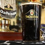 Theakstons Old Peculier alway on tap