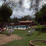 El parque y pileta